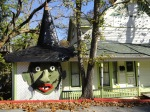 Known as the Witch-Hat house, for obvious reasons!